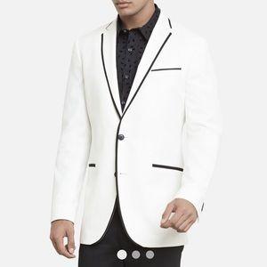 KENNETH COLE | White Blazer